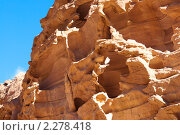 Купить «Цветной каньон. Синай. Египет», фото № 2278418, снято 8 января 2011 г. (c) Екатерина Овсянникова / Фотобанк Лори