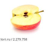 Купить «Половина яблока», эксклюзивное фото № 2279758, снято 15 января 2011 г. (c) Юрий Морозов / Фотобанк Лори