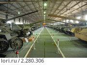 Купить «Танковый музей в Кубинке, павильон средние советские танки», фото № 2280306, снято 8 мая 2007 г. (c) Малышев Андрей / Фотобанк Лори