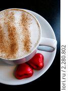 Капучино. Стоковое фото, фотограф Ткачёва Ольга / Фотобанк Лори