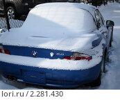 Купить «Автомобиль в снегу», фото № 2281430, снято 14 января 2011 г. (c) Александр Подшивалов / Фотобанк Лори