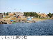 Купить «Соловки. Поселок Соловецкий», фото № 2283042, снято 7 мая 2010 г. (c) Наталья Волкова / Фотобанк Лори