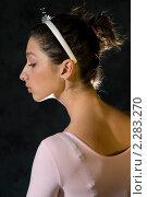 Портрет девушки в профиль. Стоковое фото, фотограф Лена Лазарева / Фотобанк Лори