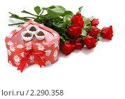 Купить «Подарок ко дню Святого Валентина», фото № 2290358, снято 18 января 2011 г. (c) Литова Наталья / Фотобанк Лори