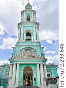 Купить «Богоявленский кафедральный Собор в Елохове», эксклюзивное фото № 2293646, снято 18 июня 2010 г. (c) Алёшина Оксана / Фотобанк Лори