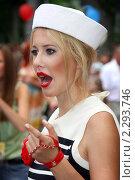 Купить «Ксения Собчак», фото № 2293746, снято 28 июля 2009 г. (c) irina vasilevica / Фотобанк Лори