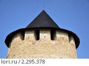 Верхняя часть средневековой башни (2010 год). Стоковое фото, фотограф Федор Болба / Фотобанк Лори
