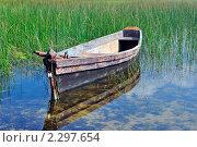 Лодка. Стоковое фото, фотограф Иван Трошин / Фотобанк Лори