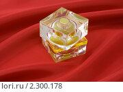 Купить «Желтый флакон духов», фото № 2300178, снято 18 июня 2007 г. (c) Сахно Роман Викторович / Фотобанк Лори