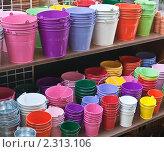 Купить «В магазине садовых принадлежностей», фото № 2313106, снято 21 октября 2010 г. (c) Николай Коржов / Фотобанк Лори