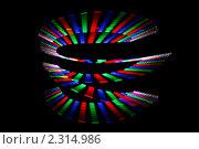 Купить «Абстрактный фон  -рисование светом», фото № 2314986, снято 26 декабря 2009 г. (c) Losevsky Pavel / Фотобанк Лори