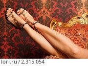 Купить «Стройные женские ножки», фото № 2315054, снято 1 октября 2009 г. (c) Losevsky Pavel / Фотобанк Лори