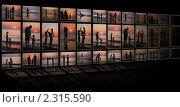 Купить «Коллаж из телевизионных экранов», фото № 2315590, снято 29 декабря 2019 г. (c) Losevsky Pavel / Фотобанк Лори