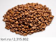 Купить «Кофейные зерна», фото № 2315802, снято 5 ноября 2009 г. (c) Алексей Лучин / Фотобанк Лори