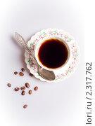 Купить «Чашка кофе», фото № 2317762, снято 2 февраля 2011 г. (c) Алексей Лучин / Фотобанк Лори