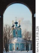 Купить «Сампсониевский собор. Церковь зимой», фото № 2318226, снято 23 января 2011 г. (c) Jumbo / Фотобанк Лори