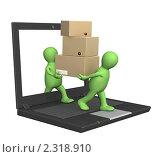 Купить «Доставка товара», иллюстрация № 2318910 (c) Лукиянова Наталья / Фотобанк Лори