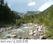Долина реки Кынгарга. Стоковое фото, фотограф Андрей / Фотобанк Лори