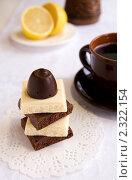 Шоколад и кофе. Стоковое фото, фотограф Татьяна Емшанова / Фотобанк Лори
