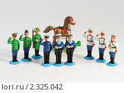 Купить «Военная миниатюра», эксклюзивное фото № 2325042, снято 2 февраля 2010 г. (c) Дмитрий Неумоин / Фотобанк Лори