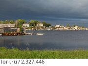 Купить «Город Кемь на берегу Белого моря», фото № 2327446, снято 2 июля 2010 г. (c) Михаил Иванов / Фотобанк Лори
