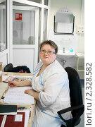 Купить «Пост медсестры в военном госпитале», эксклюзивное фото № 2328582, снято 1 февраля 2011 г. (c) Валерия Попова / Фотобанк Лори
