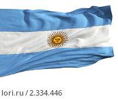 Купить «Флаг Аргентины», иллюстрация № 2334446 (c) Антон Балаж / Фотобанк Лори
