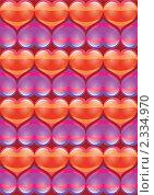 День святого Валентина, фон. Стоковая иллюстрация, иллюстратор Валерий Баришполец / Фотобанк Лори