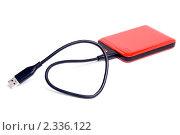 Купить «Красный внешний диск», эксклюзивное фото № 2336122, снято 5 февраля 2011 г. (c) Александр Щепин / Фотобанк Лори