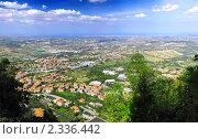 Купить «Вид на Сан-Марино,  Италия», фото № 2336442, снято 23 августа 2010 г. (c) Vitas / Фотобанк Лори