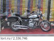 """Мотоцикл """"Виста"""" (2009 год). Редакционное фото, фотограф Хорьков Игорь / Фотобанк Лори"""