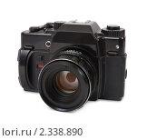 Купить «Пленочный фотоаппарат», фото № 2338890, снято 16 февраля 2010 г. (c) Яков Филимонов / Фотобанк Лори