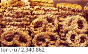 Немецкие крендельки. Стоковое фото, фотограф Анастасия Мельникова / Фотобанк Лори