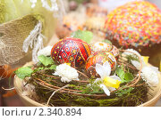 Купить «Пасхальные яйца», фото № 2340894, снято 3 апреля 2010 г. (c) Павел Савин / Фотобанк Лори