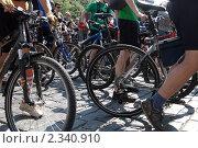 Купить «Велогонка в Киеве», фото № 2340910, снято 29 мая 2010 г. (c) Павел Савин / Фотобанк Лори