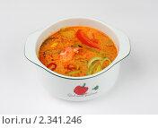 Красный овощной суп (2010 год). Редакционное фото, фотограф Константин Буркин / Фотобанк Лори