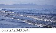 Купить «Прибой во время прилива», фото № 2343074, снято 10 сентября 2010 г. (c) Пьянков Александр / Фотобанк Лори