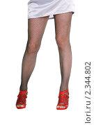 Купить «Женские ножки», фото № 2344802, снято 1 февраля 2011 г. (c) Юрий Соловьёв / Фотобанк Лори