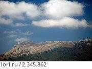 Гора Чатырдаг. Крым (2010 год). Стоковое фото, фотограф Олег Титов / Фотобанк Лори