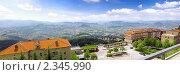 Купить «Вид на Сан-Марино, панорама, Италия», фото № 2345990, снято 23 августа 2010 г. (c) Vitas / Фотобанк Лори