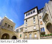Купить «Площадь Сан-Марино, Италия», фото № 2345994, снято 23 августа 2010 г. (c) Vitas / Фотобанк Лори