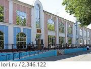 Купить «Муром. Центральная городская библиотека», эксклюзивное фото № 2346122, снято 19 июля 2010 г. (c) Зобков Георгий / Фотобанк Лори
