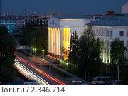 Купить «Здание университета в Уфе», фото № 2346714, снято 10 мая 2010 г. (c) Михаил Валеев / Фотобанк Лори