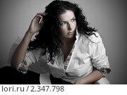 Портрет девушки. Стоковое фото, фотограф Зуйкова Ольга Васильевна / Фотобанк Лори