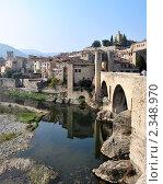 Купить «Древний испанский город. Бесалу.», фото № 2348970, снято 24 мая 2019 г. (c) valentina vasilieva / Фотобанк Лори