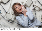 Купить «Аврал на работе», фото № 2349198, снято 9 февраля 2011 г. (c) Мельников Дмитрий / Фотобанк Лори