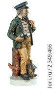 Купить «Статуэтка капитана», фото № 2349466, снято 17 февраля 2011 г. (c) Сергей Лаврентьев / Фотобанк Лори