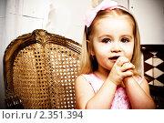 Купить «Маленькая принцесса», фото № 2351394, снято 14 января 2011 г. (c) Вероника Галкина / Фотобанк Лори
