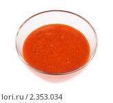 Красный томатный соус. Стоковое фото, фотограф Константин Буркин / Фотобанк Лори