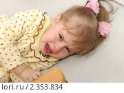 Купить «Плачущий  ребенок», фото № 2353834, снято 8 января 2010 г. (c) Икан Леонид / Фотобанк Лори